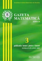 Gazeta Matematica, Seria B